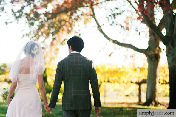 Fall Sonoma Wedding