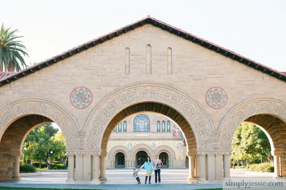 Family Photography at Stanford University