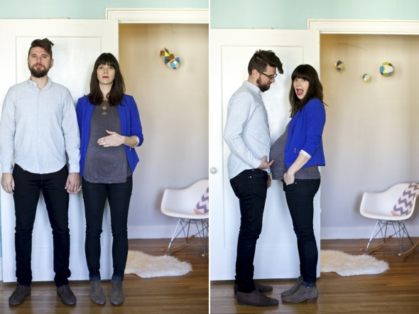 Modern Maternity Photography San Francisco