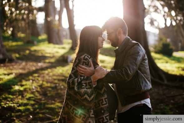 Modern Maternity session in SF
