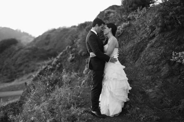 northern california cliff wedding photography