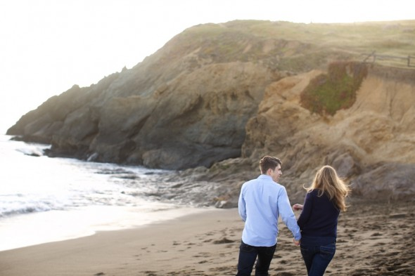 Engagement Photography at Rodeo Beach