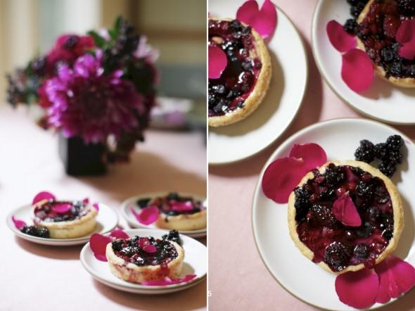 Berry Tart Dessert LifeyStyle Photography