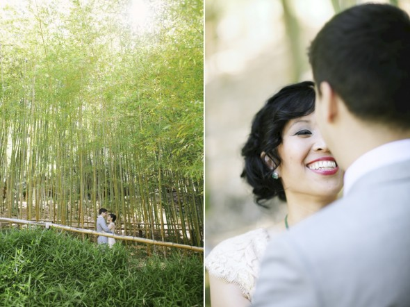 Hakone Garden Wedding Photography