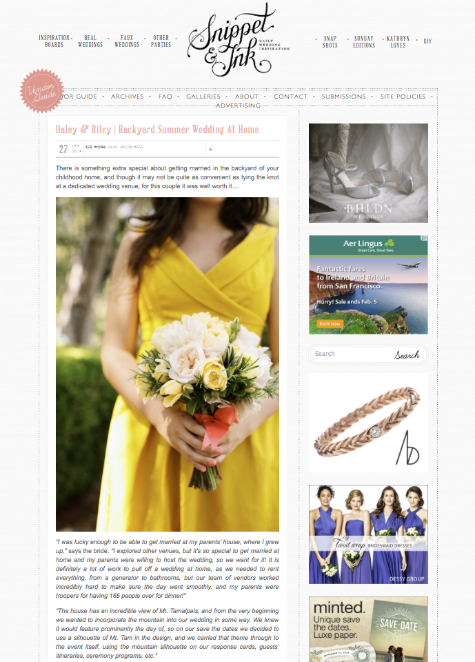 Simply Jessie Photography featured on Snippet & Ink