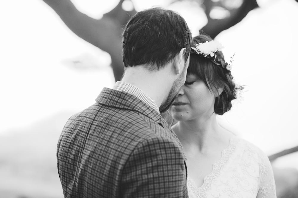 Small intimate wedding photographer San Francisco