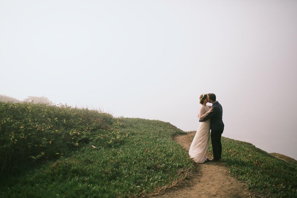 Foggy cliff San Franciso Wedding.jpg