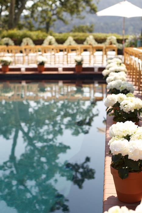 San Francisco Poolside Wedding