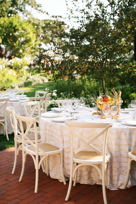 Backyard Garden Wedding in Marin