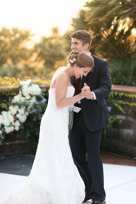 First Dance Backyard Garden Wedding Bay Area