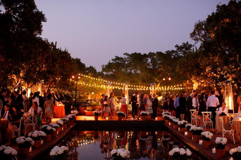 Bay Area Garden Wedding Dancing