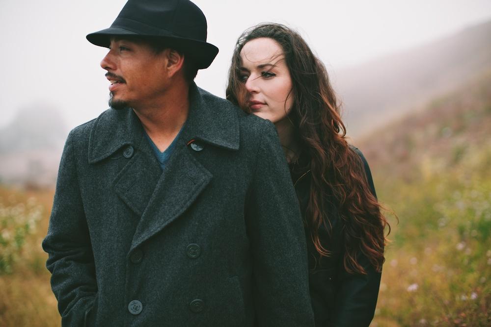 Foggy Bernal Hill Engagement Photography