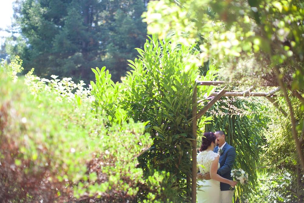 Garden Wedding Bay Area Photography