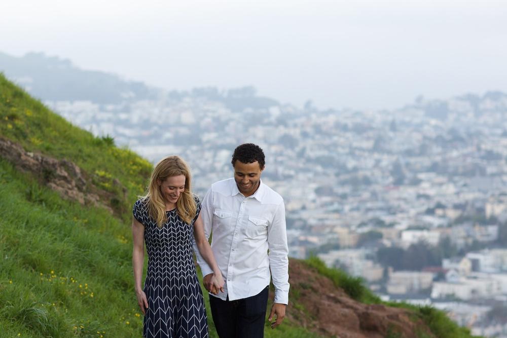 Bernal Hill Engagement Photography