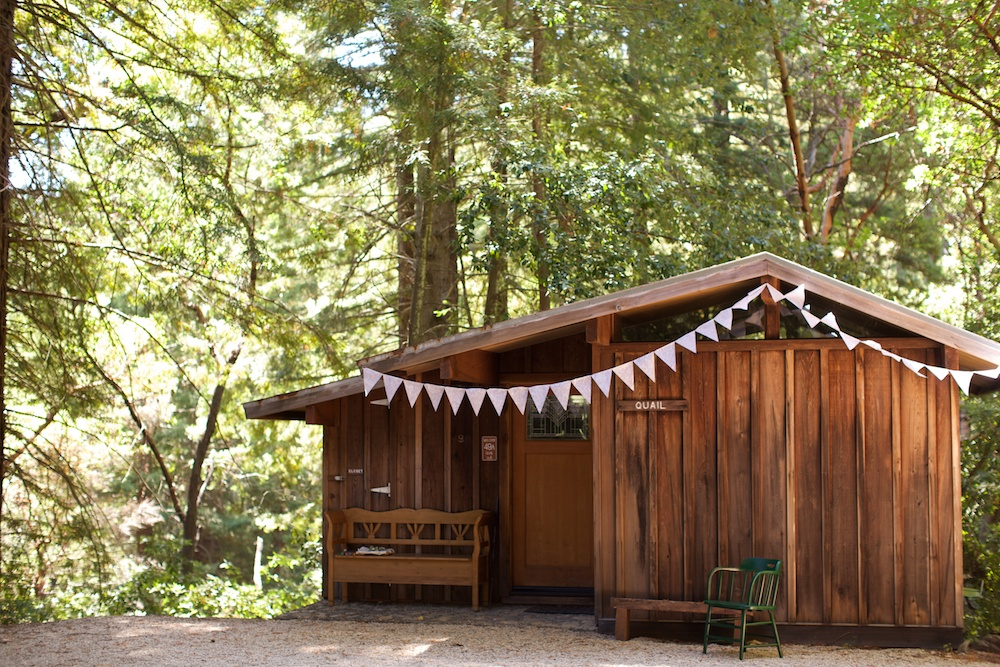 Small Woodland Wedding In Santa Cruz California