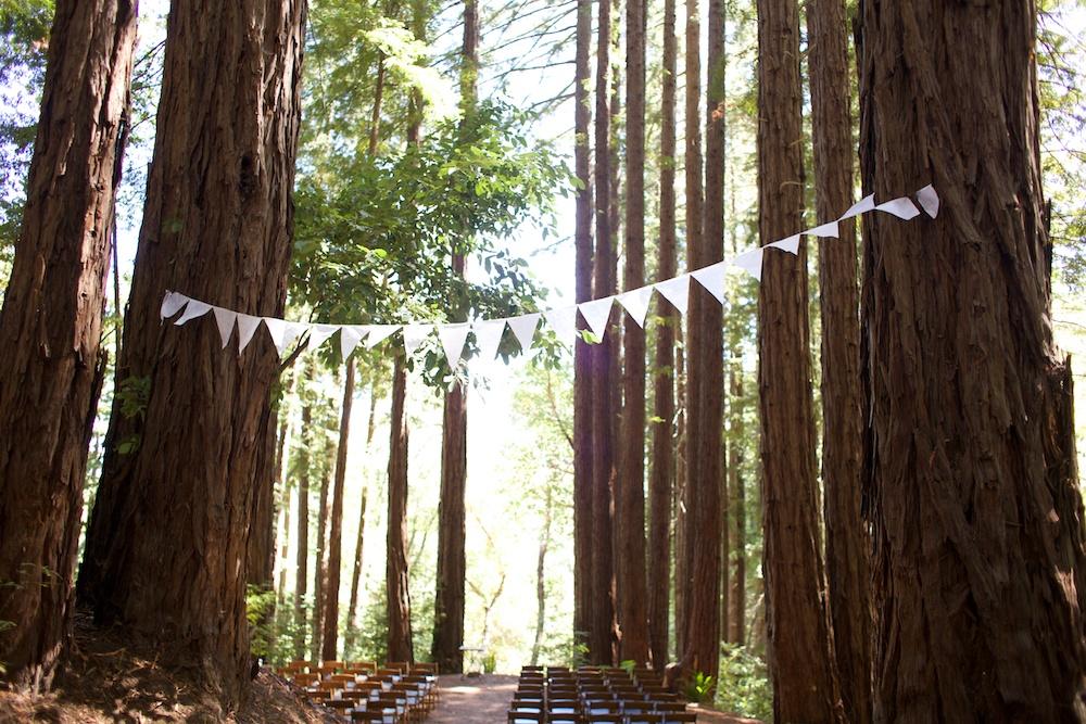 Wedding at Sequoia Retreat Center Santa Cruz Mountains