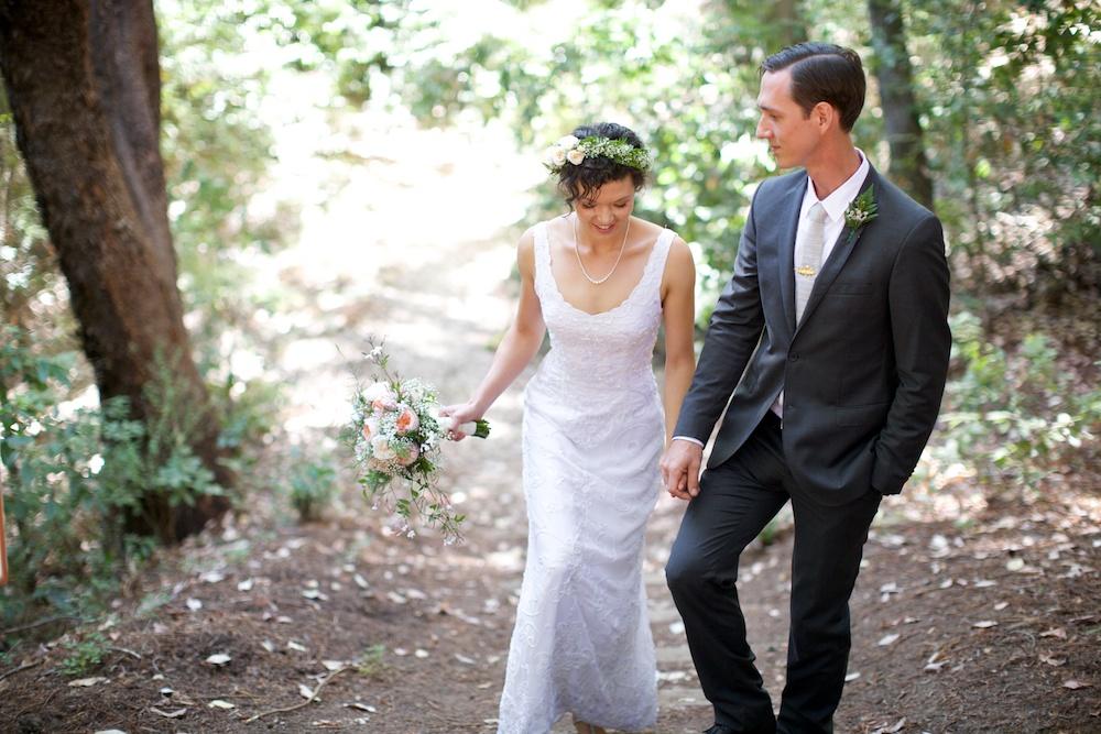 Sequoia Retreat Center Wedding Santa Cruz California