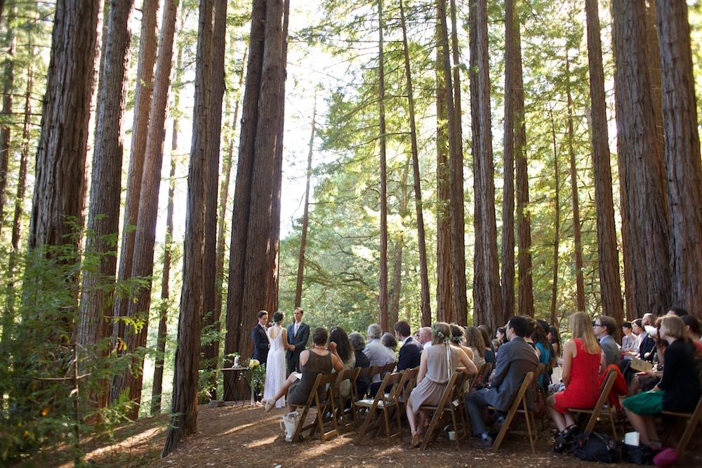 Santa Cruz Sequoia Retreat Center Wedding
