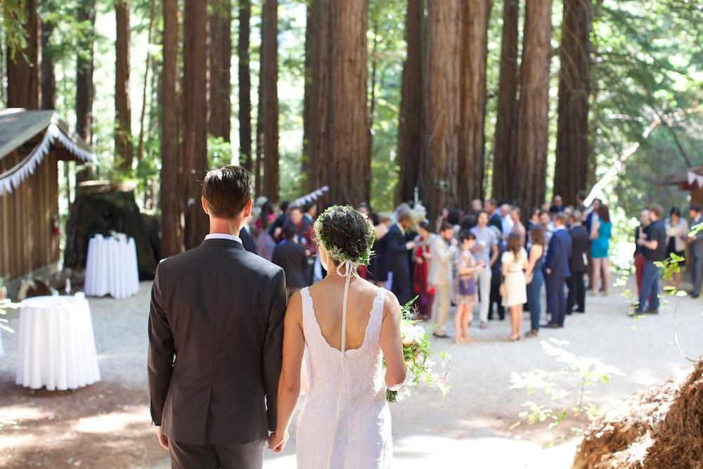 Redwood Grove Wedding Santa Cruz California