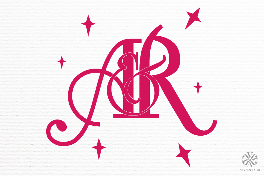 A & R Wedding Monogram / Personal Logo