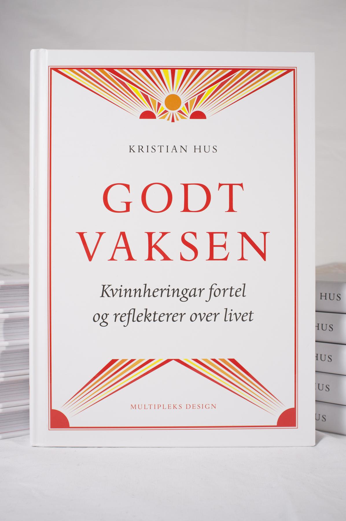 Omslaget på boka  Godt vaksen .