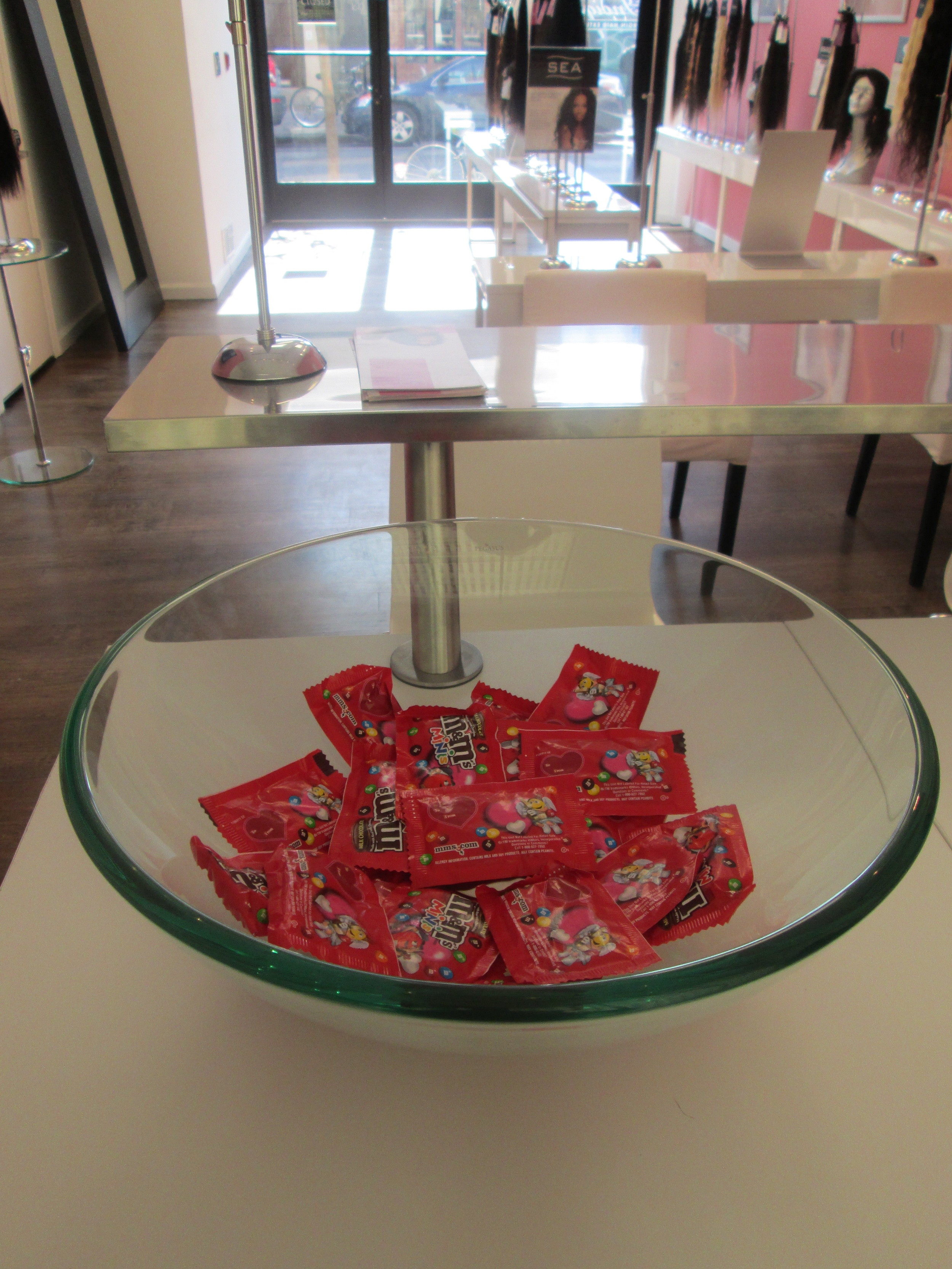 Indique Philly had yummy treats for their clients!