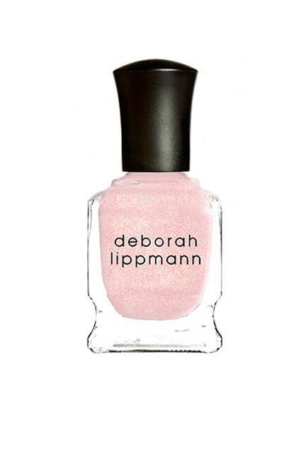 Deborah Lippmann Nail Lacquer in La Vie En Rose will glisten in the sun