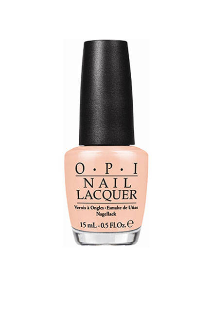 Or go peachy nude with OPI Nail Lacquer in Chillin' Like a Villain