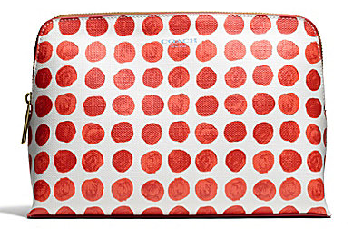 Coach Bleaker Cosmetic Case in Painted Dot