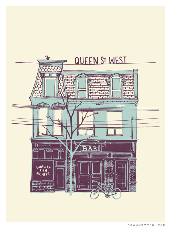 Queen West chip shop