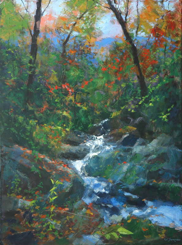 Blue Ridge Cascade 40X30 $7500.jpg