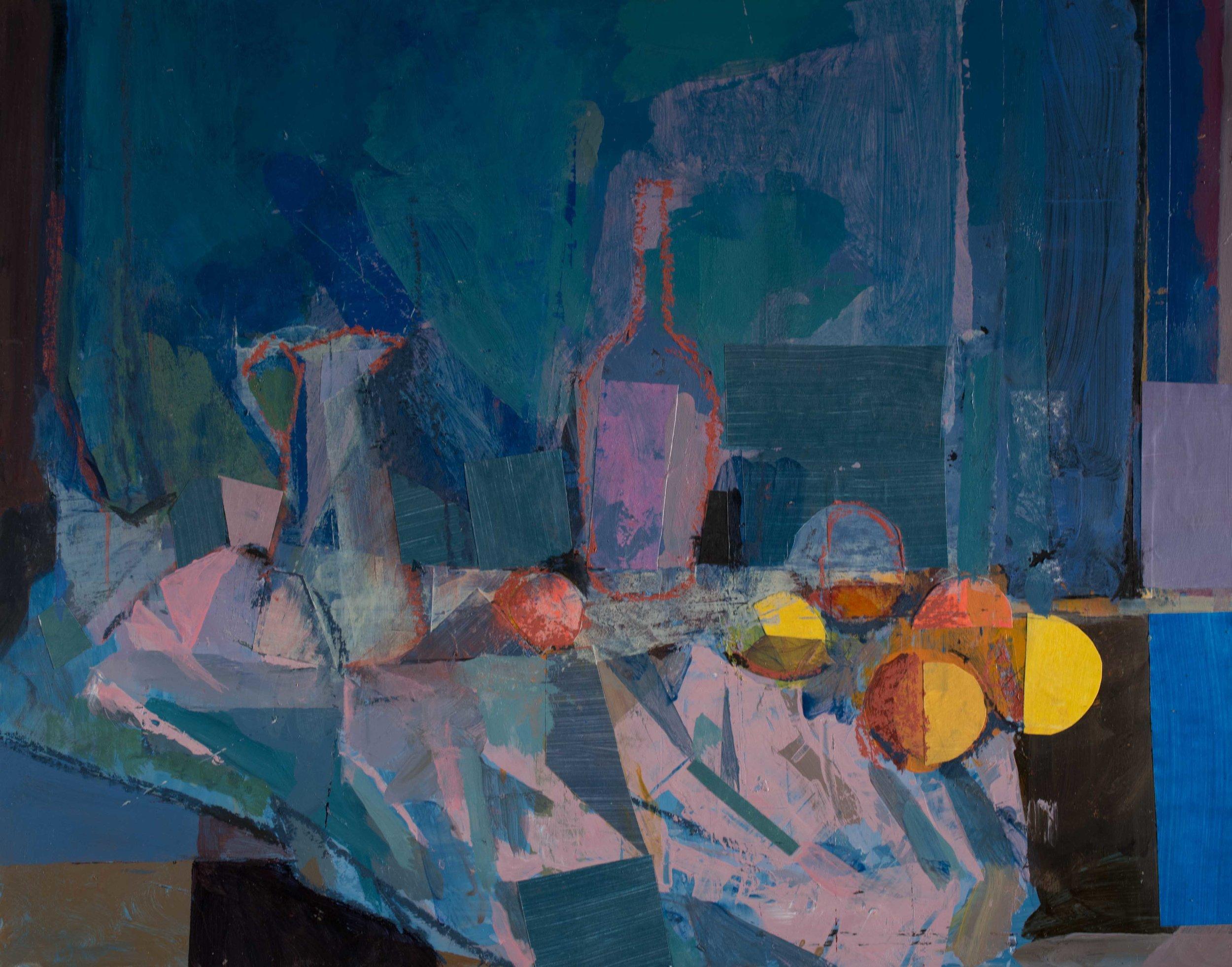 Blue Still Life 11x14