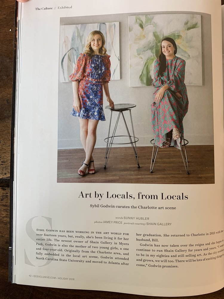 Shain Gallery and Owner, Sybil Godwin, Featured in this