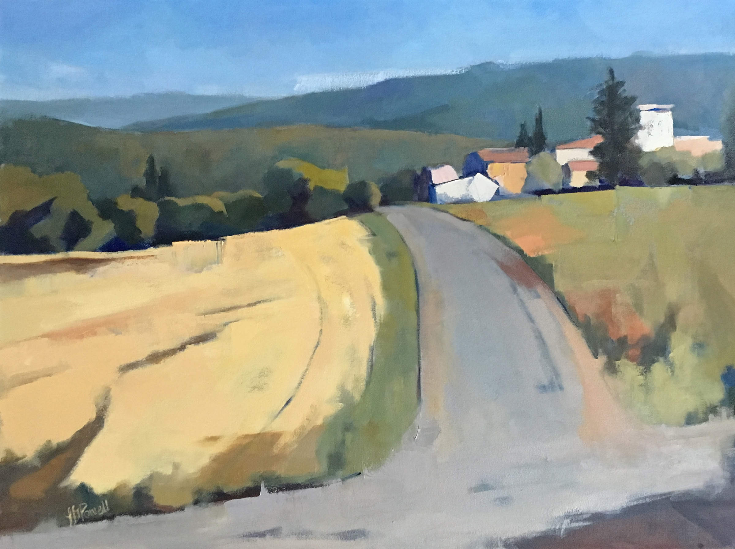 Road to the Farm 30x40