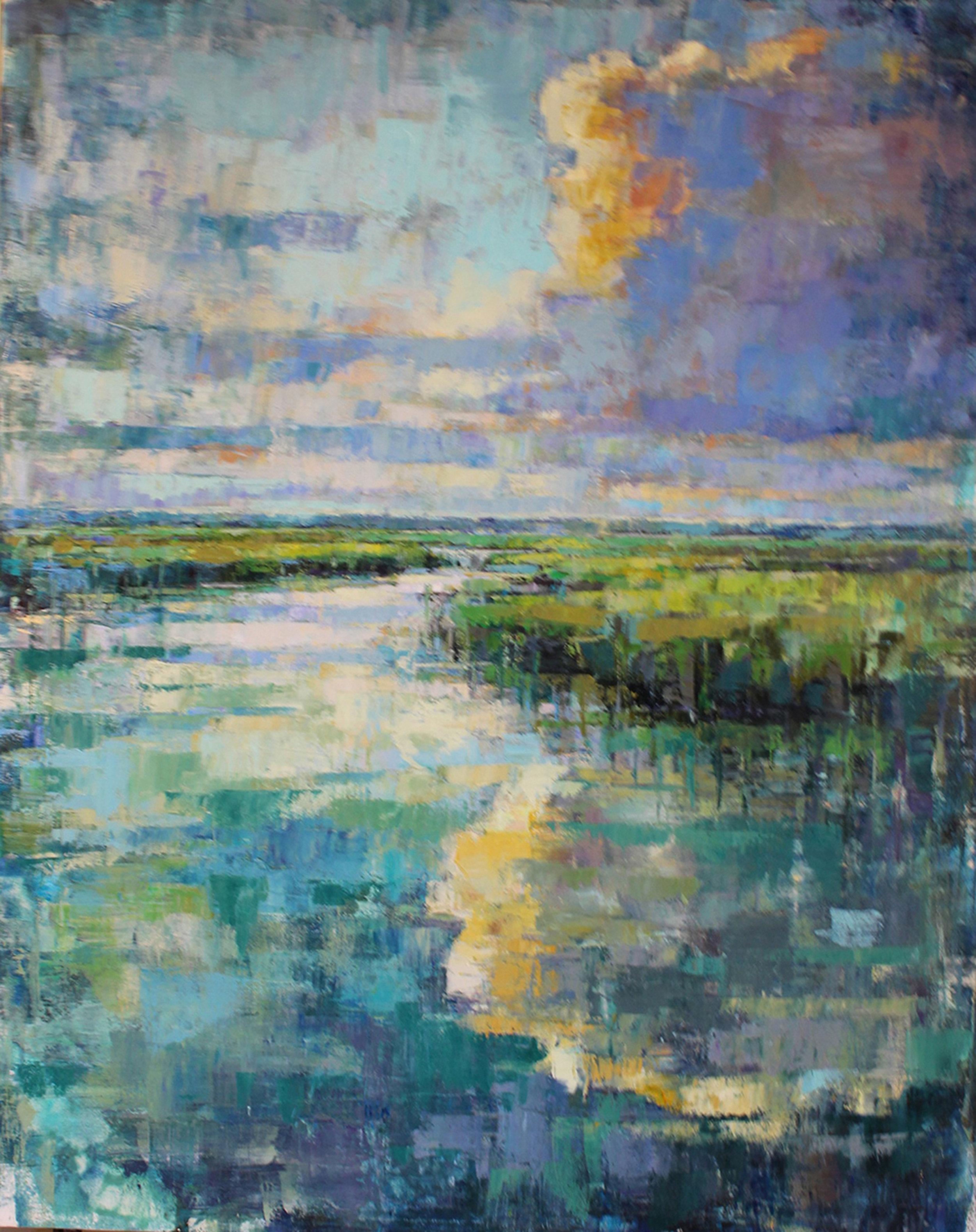 Reflective Promenade 60x48