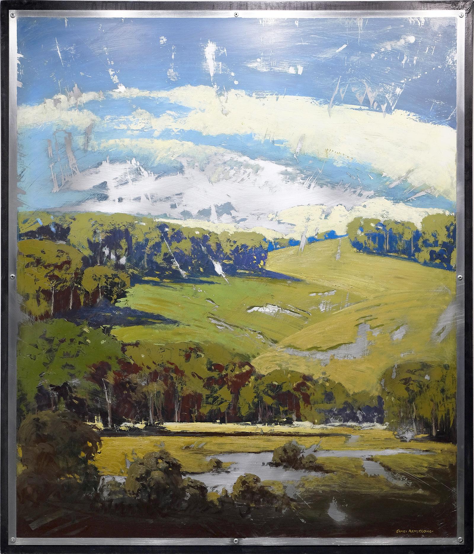 Hillside Stream 42x36