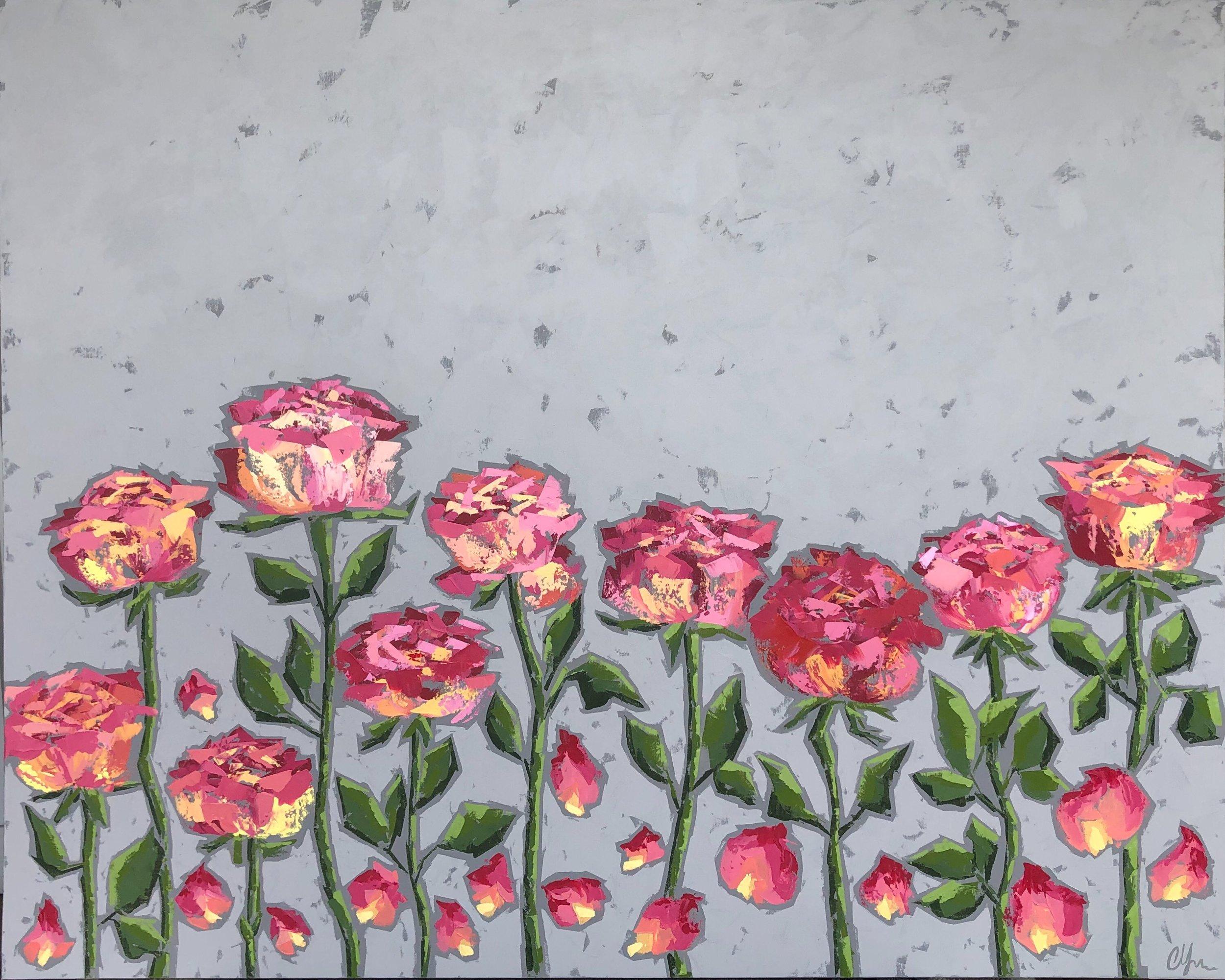 La Vie en Rose 48x60