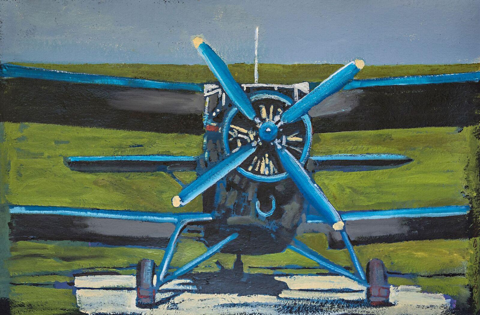 The Bluebird 36x52