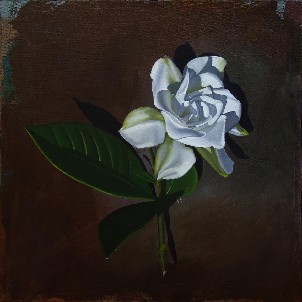 Single Gardenia 5 18x18