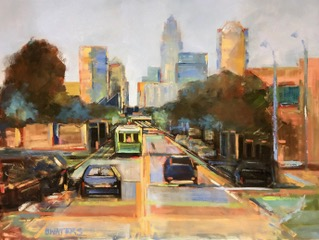 Colorful Commute (to the Queen City) 36x48 $2900.jpeg