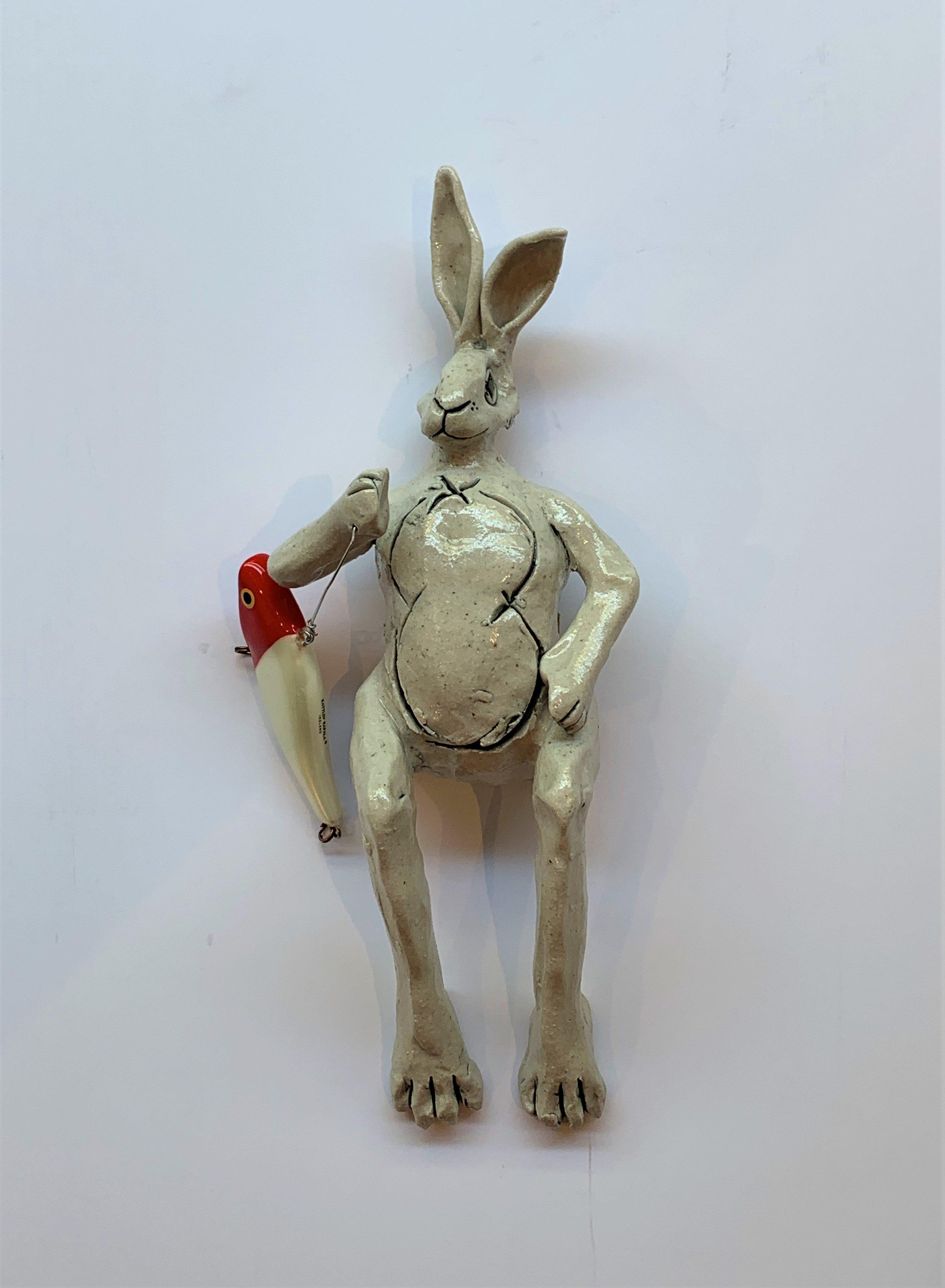 Wall Bunny 7 9x4