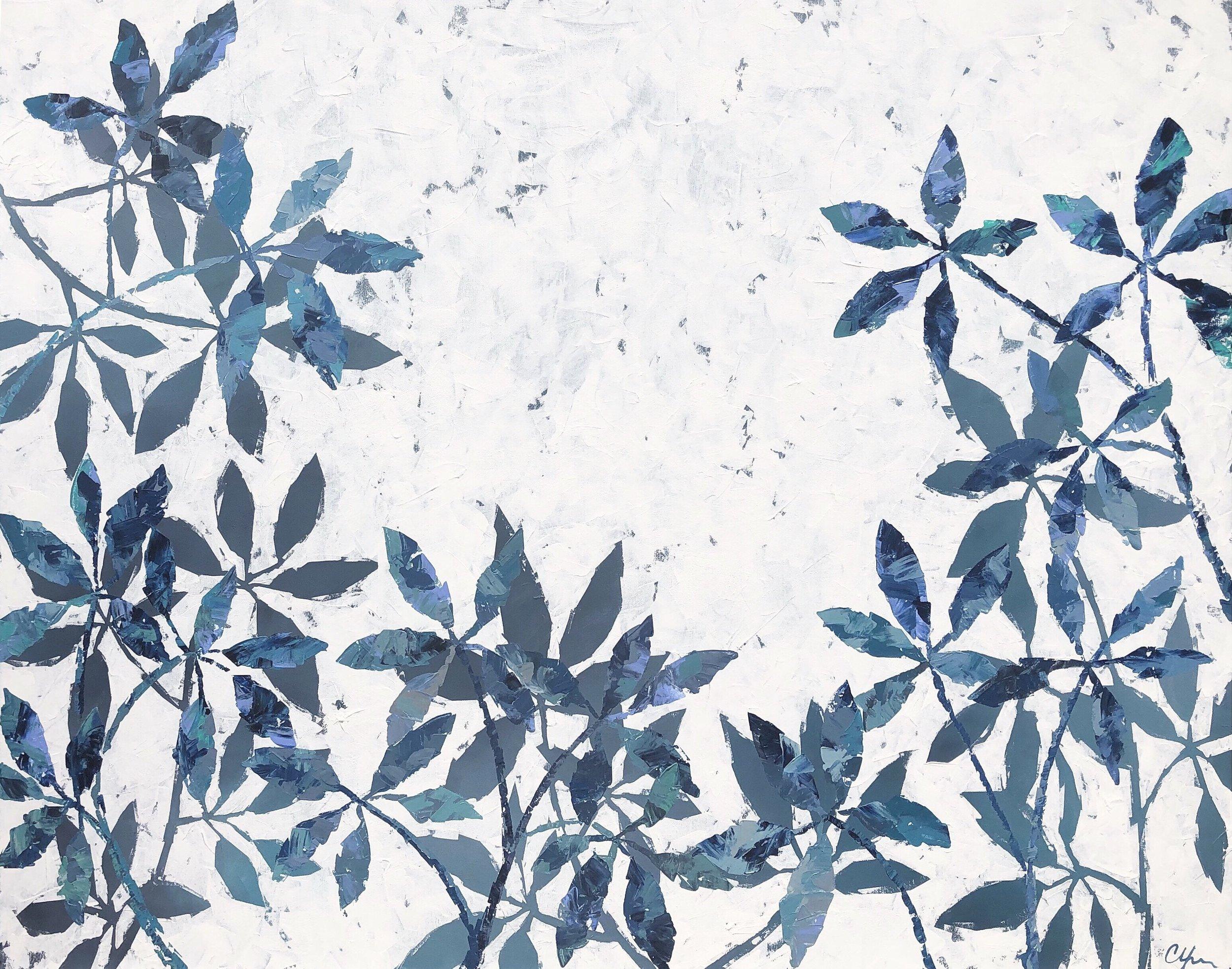 Shades of Blue II 48x60