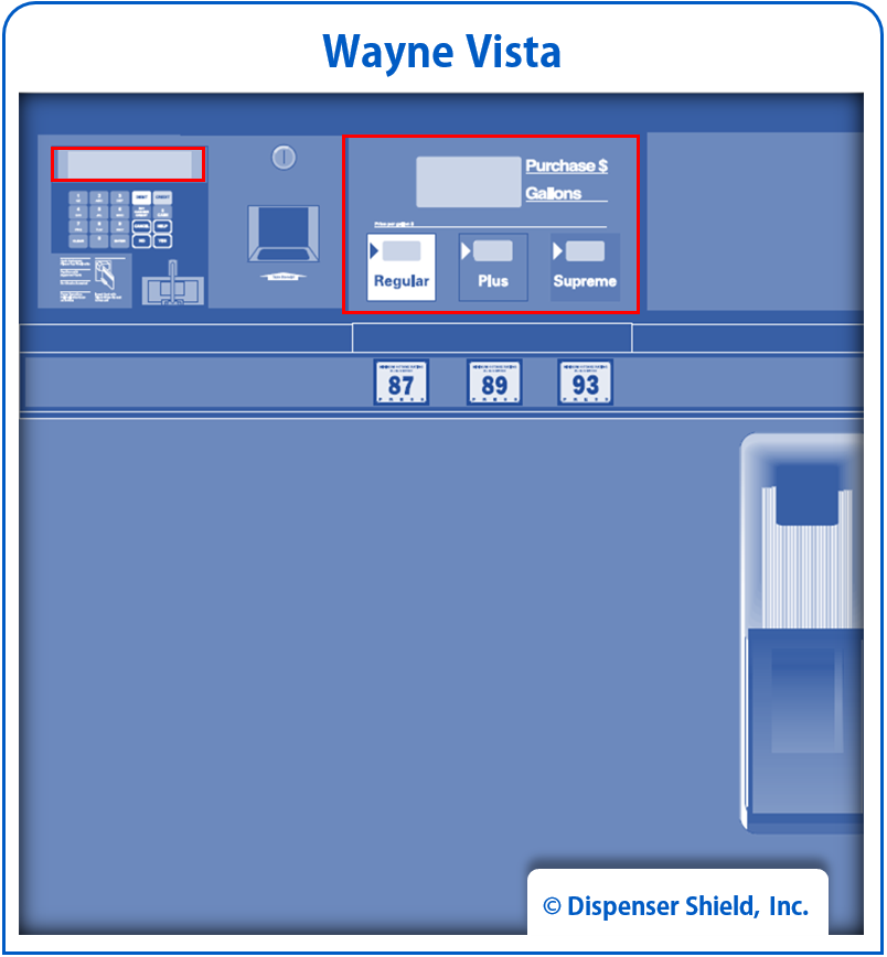 Wayne Vista 3/V (Single-Line)