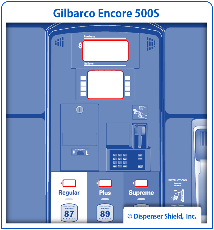 Not your model?    View alternative Gilbarco 500S model here →