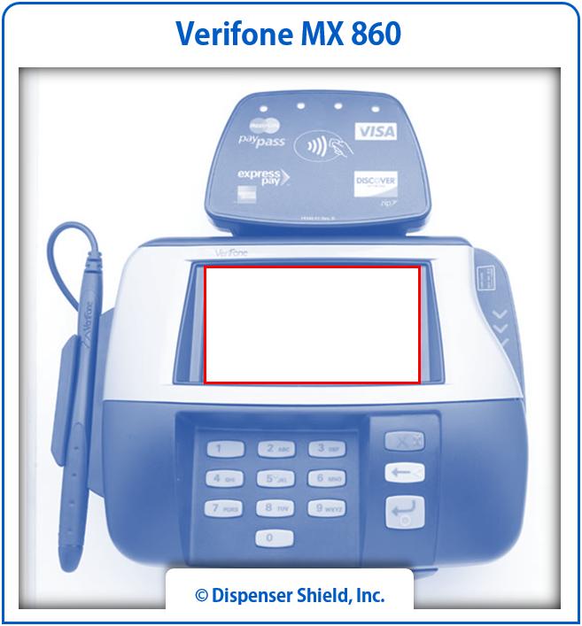 VeriFone MX 860