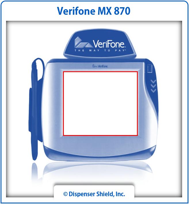 VeriFone MX 870
