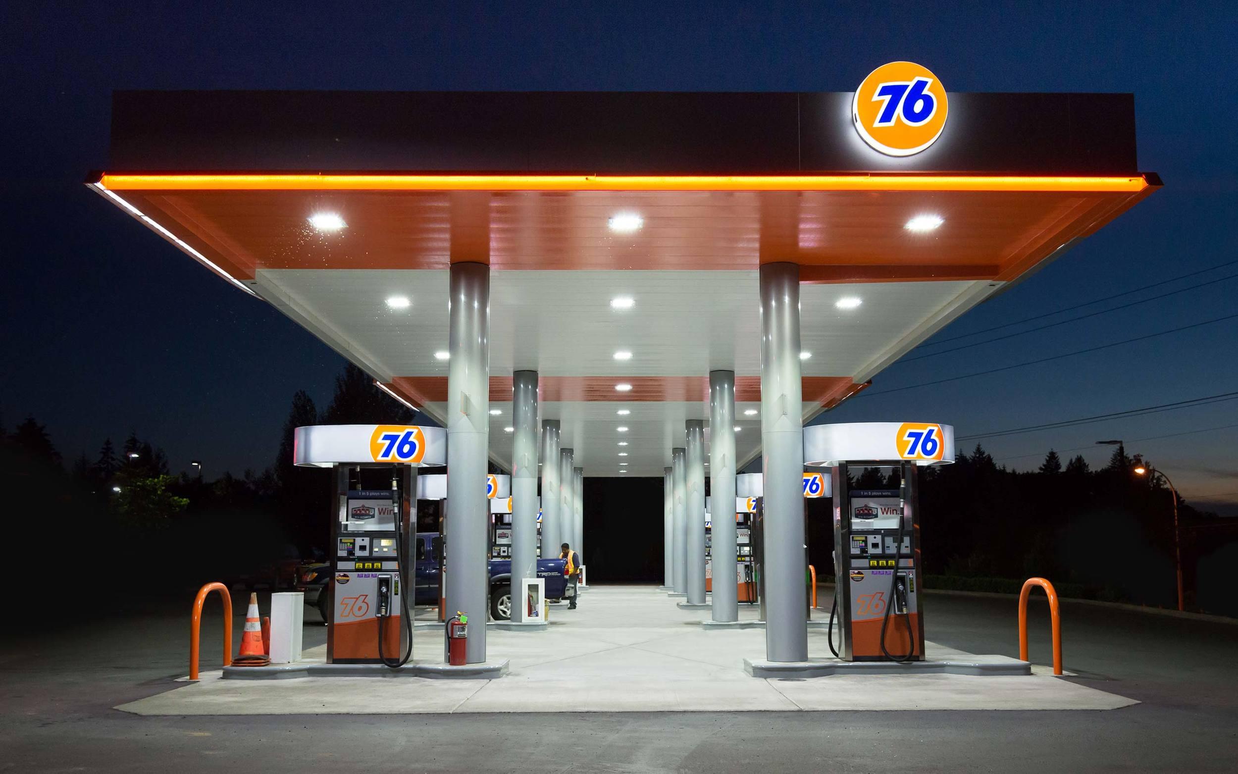 76 Wave Gas Station Reimage