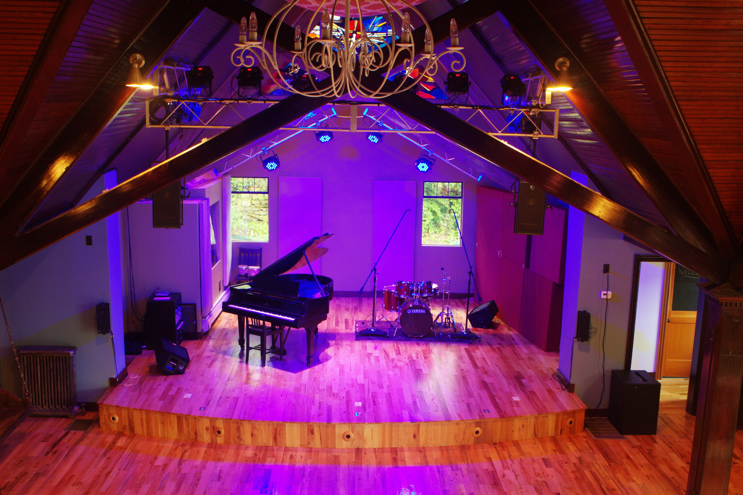 Architecture Photography: Music Studio
