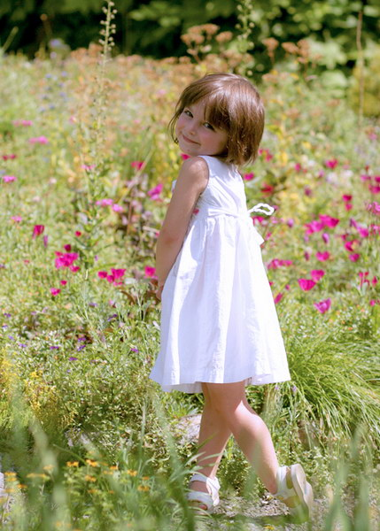 Outdoor child portrait, Westchester NY