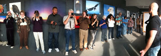 Our Epic Light Gallery filled with DSLR students